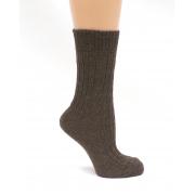 Носки из верблюжьей шерсти. Цвет коричневый