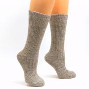 Высокие носки из собачьей шерсти и альпаки