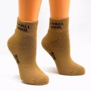 Носки махровые из верблюжьей шерсти. Цвет бежевый