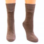 Носки Soft из верблюжьей шерсти. Цвет коричневый