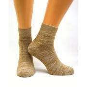 Носки из верблюжьей шерсти с добавлением медной нити