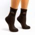 Носки из 90% шерсти яка. Цвет коричневый