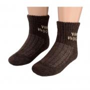 Носки детские из 90% шерсти яка